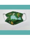 Masque en tissu lavable - 2 à 6 ans - motif savane - Bébés Bulles