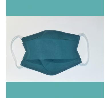 Masque en tissu lavable - 7 à 12 ans - vert sapin - Bébés Bulles • Bébés Bulles • Bébés Bulles