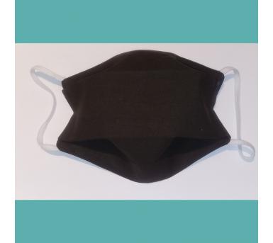 Masque en tissu lavable - Adulte - Marron chocolat - Bébés Bulles • Bébés Bulles • Bébés Bulles