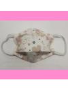 Masque en tissu lavable - 2 à 6 ans - motif la petite souris - Bébés Bulles