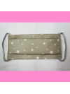Masque en tissu lavable - 7 à 12 ans - motif étoile - Bébés Bulles