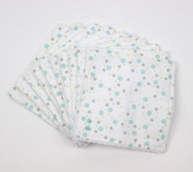 Lingettes lavables pour bébé - lot de 10 - Coton et fibre de bambou - Oeko tex - Bébés Bulles • Bébés Bulles • Bébés Bulles