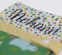 Protège carnet de santé pour bébé - thème Savane - personnalisable - bebesbulles