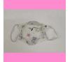 Masque en tissu enfant - motifs chouettes - bébés bulles