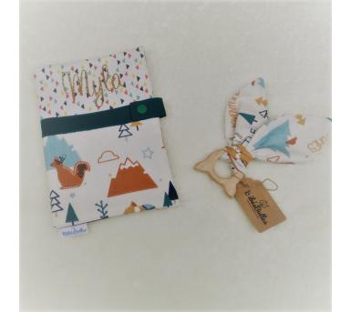 Box cadeau - carnet de santé et anneau de dentition - Bébés Bulles • Bébés Bulles • Bébés Bulles
