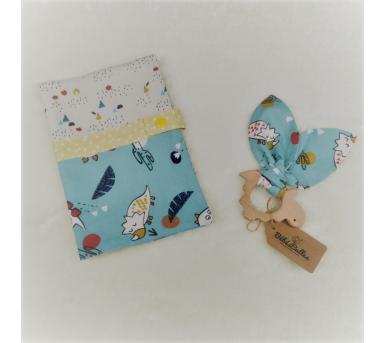 BOX cadeau • Thème Les dinosaures • Bébés Bulles
