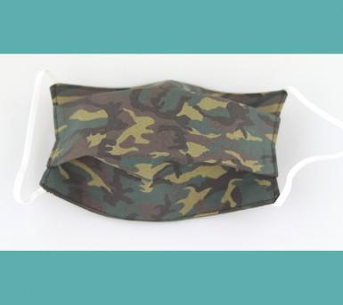 Masque en tissu lavable - Camouflage • Bébés Bulles